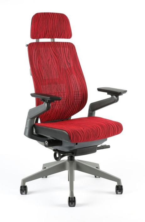 Levně Office Pro kancelářská židle Karme Mesh A-09 červená + 3 roky prodloužená záruka