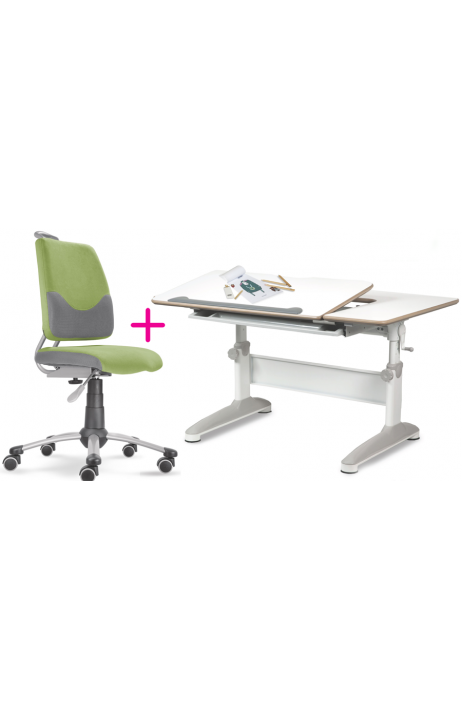 MAYER set dětská rostoucí židle a stůl Actikid A3 zelený EXP + dárek ZDARMA + 8% sleva a 5let prodloužená záruka