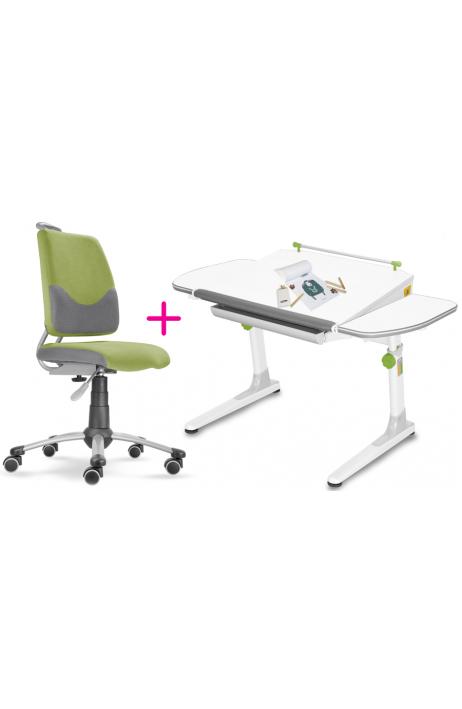 MAYER dětská rostoucí židle a stůl Actikid A3 zelený W58 + 5 let prodloužená záruka