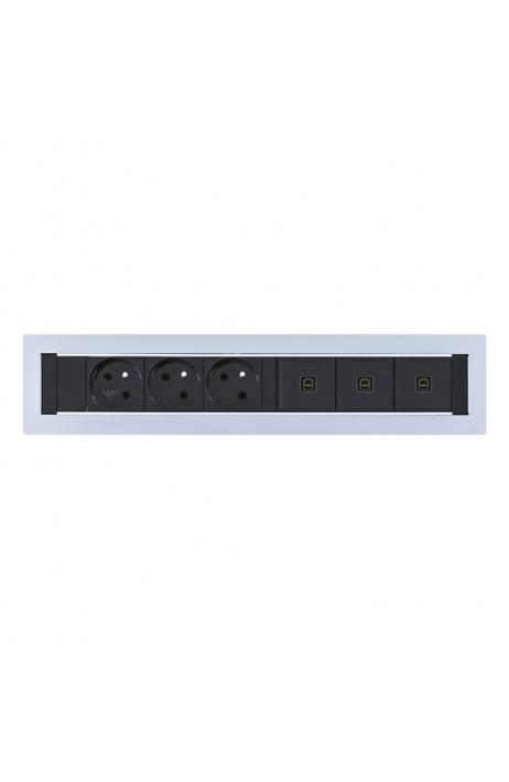 OFFICE PRO zásuvkový pevný panel Vault KPP 6 výprodej