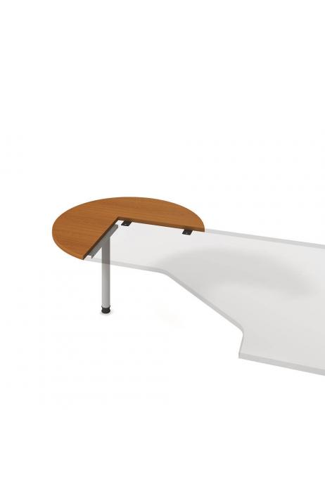 Hobis jednací stůl Cross CP 21 L levý ø 100 cm