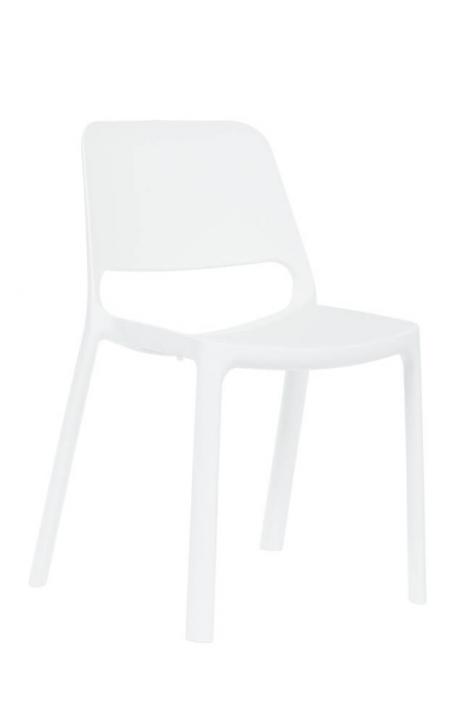 ANTARES jídelní židle Pixel snowball bílá bez područek