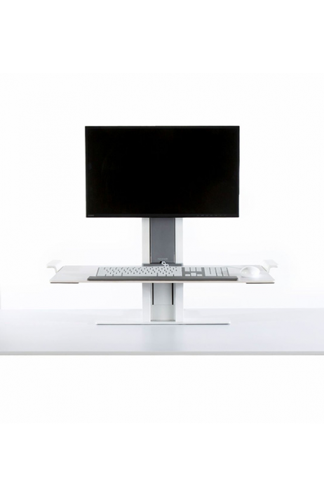 HUMANSCALE pracovní stanice Quick Stand jeden monitor malá platforma