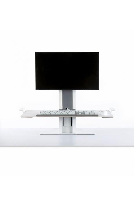 HUMANSCALE pracovní stanice Quick Stand jeden monitor velká platforma