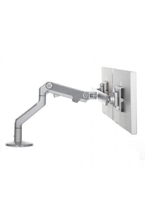 HUMANSCALE rameno na monitor M8 sestava pro 2 monitory stříbrná