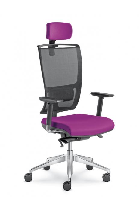 LD Seating kancelářská židle Lyra Net 201-SYS + 5 let prodloužená záruka