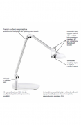 HUMANSCALE lampa Element Classic LED